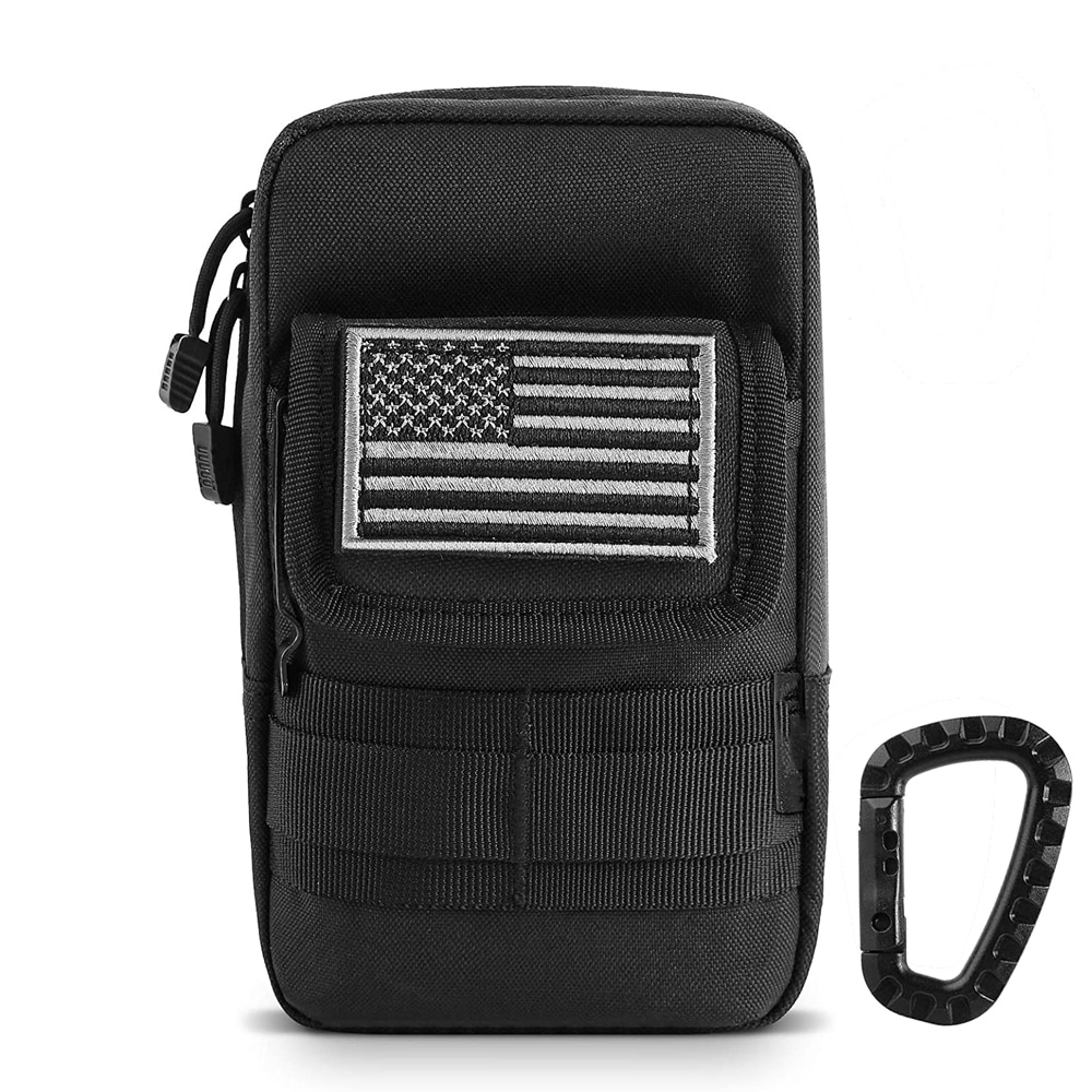 1000D Molle Pouch Tactical Waterproof Waist Pack Outdoor EDC Tool Bag Military Phone Case Purse Hunting Bag for Vest Belt