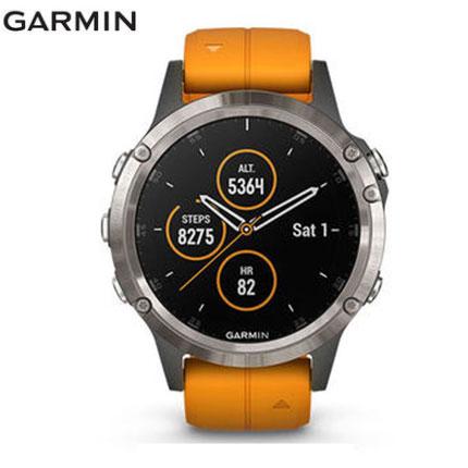 Review Original Garmin Fenix 5 Plus GPS GOLF Smartwatch 100M waterproof diving Heart Rate Monitor Music  Garmin Pay NFC smart watch men