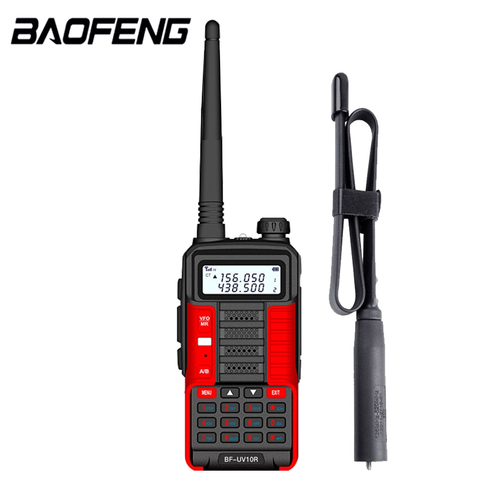 2021 New BaoFeng UV-10R Two Way Radio Walkie Talkie Ham CB Radio Transceiver 30km Long Range Portable Radio For Hunt Forest City