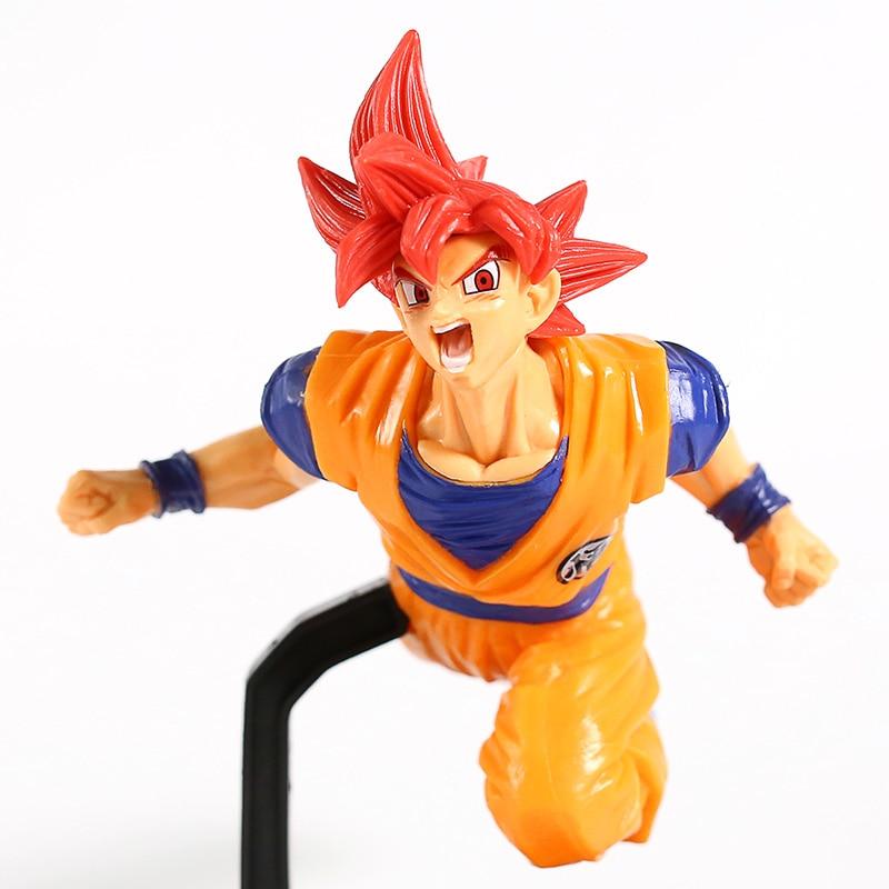 ¡Dragon Ball SUPER Goku FES! Super Saiyan Dios Son Goku Gokou PVC figura coleccionable modelo de juguete
