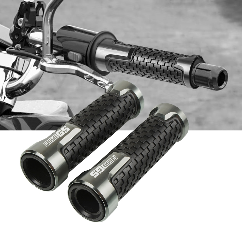 Accesorios para motocicleta 7/8 22mm manillar Grip Cnc aluminio para BMW F650GS F650 GS 2008 2009 2010 2011 2012