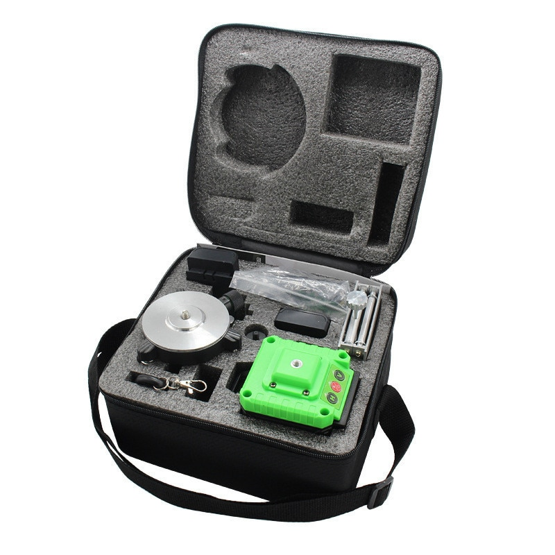 3D 12-line Laser Level Blue Light Wall And Floor Level High Precision Automatic Wire Bonding Infrared Level