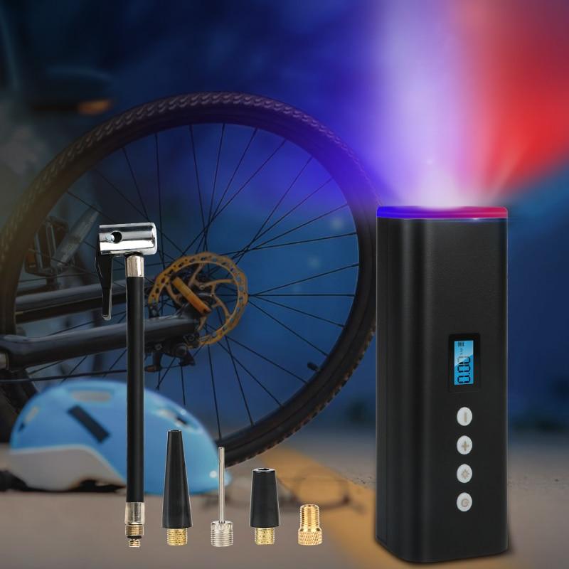 Vtopek ضاغط هواء للسيارة دراجة مضخة لسيارة ضاغط هواء محمول منفاخ لإطارات السيارة دراجة مضخة هواء الاطارات نافخات كهربائية