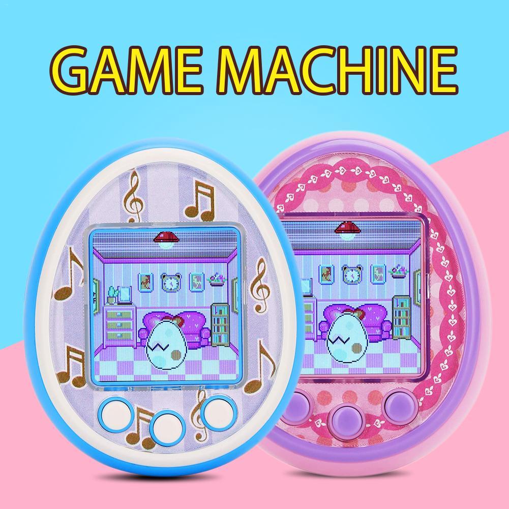 Cartoon Electronic Gadgets Electronic Digital Pet Game Dating Machine Handheld Virtual Pet Kids Toy Gift