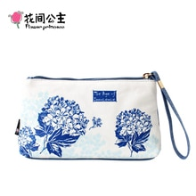 Flower Princess Women Small Bags Fashion Casual Lady Clutch Multi-function Women's Purse with Card Slot Female Handbags