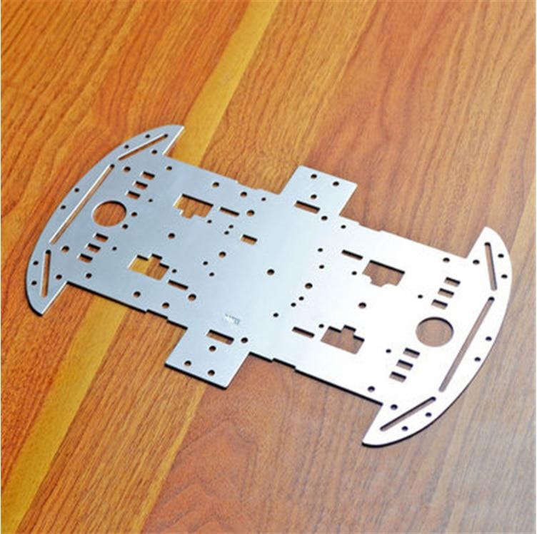 Aluminum alloy smart car chassis