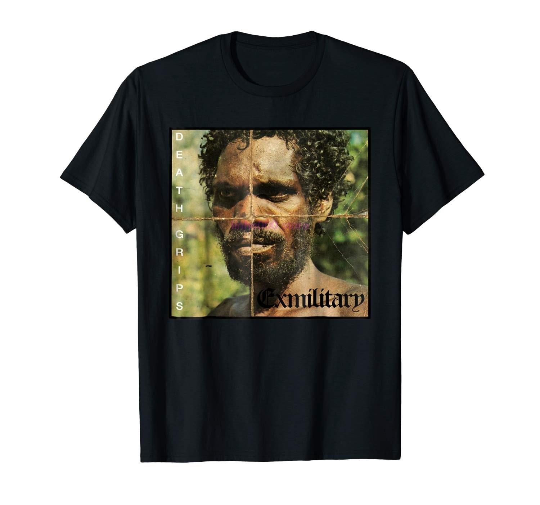 Camiseta Exmilitary marca GILDAN para hombre Death Grip