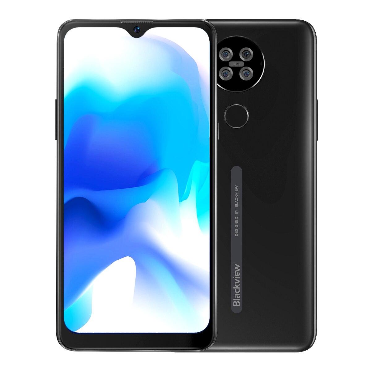 Blackview-هاتف خلوي 4G A80s ، شاشة 6.217 بوصة ، هاتف ذكي ، Android 10 ، MT6762V/WD ، ثماني النواة ، 4 جيجا بايت رام ، 64 جيجا بايت روم ، 4200 مللي أمبير