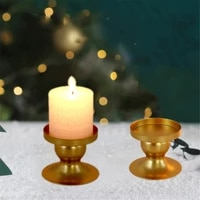 metal candle holder simple wedding decoration accessories chic wedding table decor modern home decoration candlestick