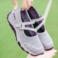 2021 women lightweight walking shoes high quality casual sneakers fashion flats creepers comfortable mother footwear zapatillas