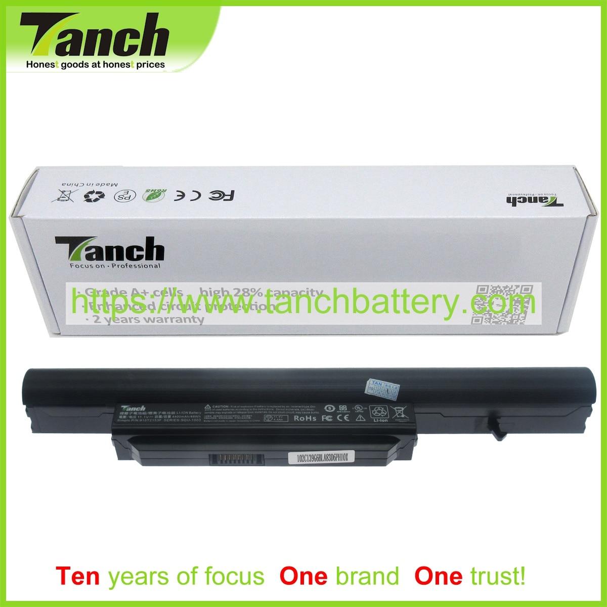 Tanch بطارية كمبيوتر محمول ل HASEE CQB913 CQB916 CQB917 3UR18650-2-T0681 916T2134F SQU-1003 921600003 916Q2134F 11.1V 6 خلية
