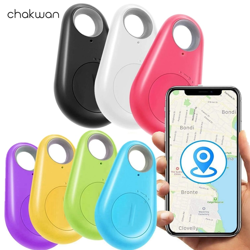 """Smart GPS tracker finder locator bluetooth anti-lost lost alarm sensor device for šunims ir katėms"