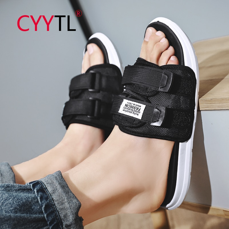 CYYTL-chanclas deportivas para Hombre, sandalias informales para la playa al aire libre,...