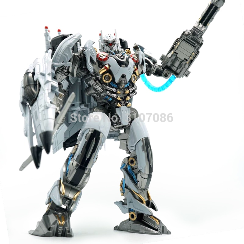 Hmb transformação ls01 ls-01 modo de avião nitro zeus tf filme ko liga grande tamanho figura ação robô coleção brinquedos