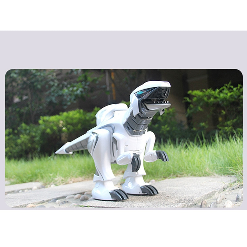 71CM Large Size Remote Control Robot Dinosaur Toy Touch Sensing Dancing RC Animal Toy With Shake Head Tails  Swing Programmable enlarge