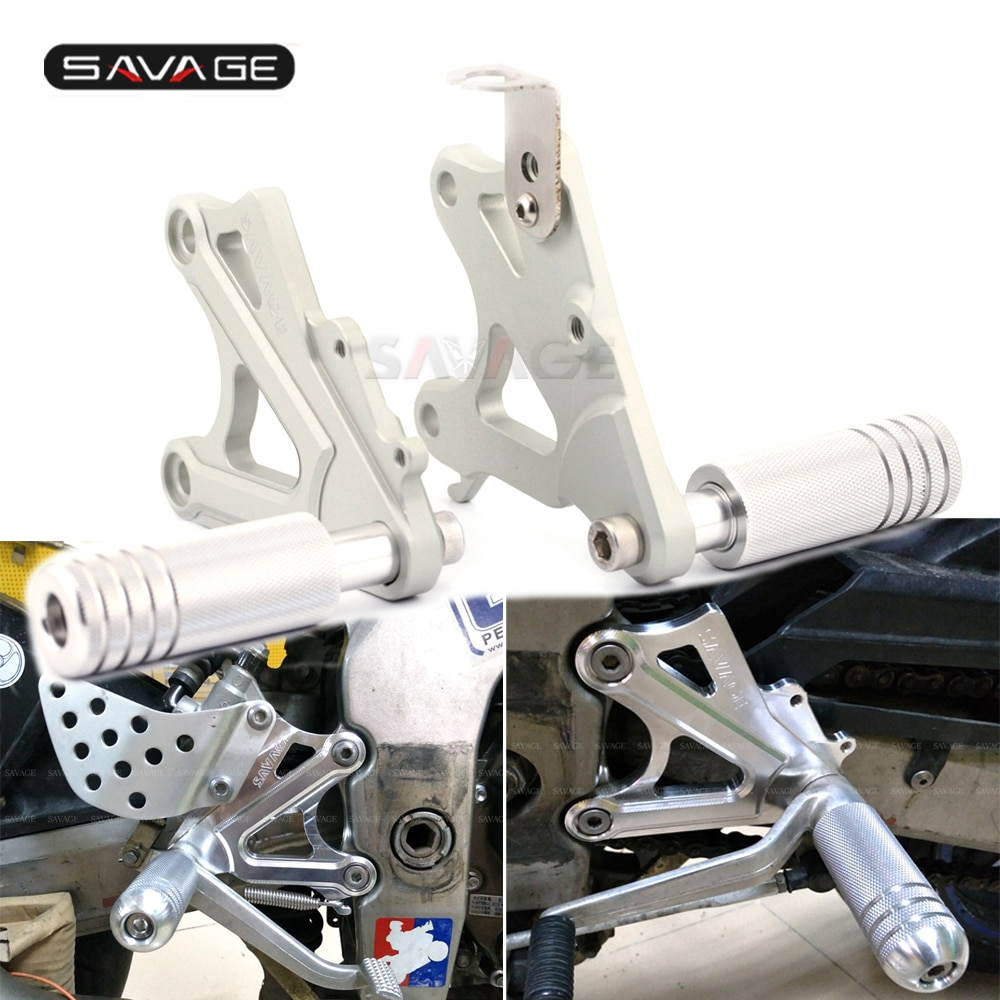 For KAWASAKI ZX-6R ZX-6RR 2003 2004 ZX6R ZX6RR Motorcycle Accessories Bracket Mount Front Foot Pedal Peg Footrest