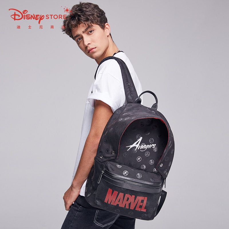 Authentic Disney Official Marvel Avengers Fashion Trend Backpack Backpack  School Bags