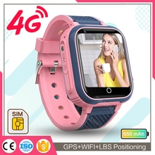 New Smart Watch Kids GPS 4G LT21 Wifi Tracker Waterproof Smartwatch Kids Video Call Phone Watch Call