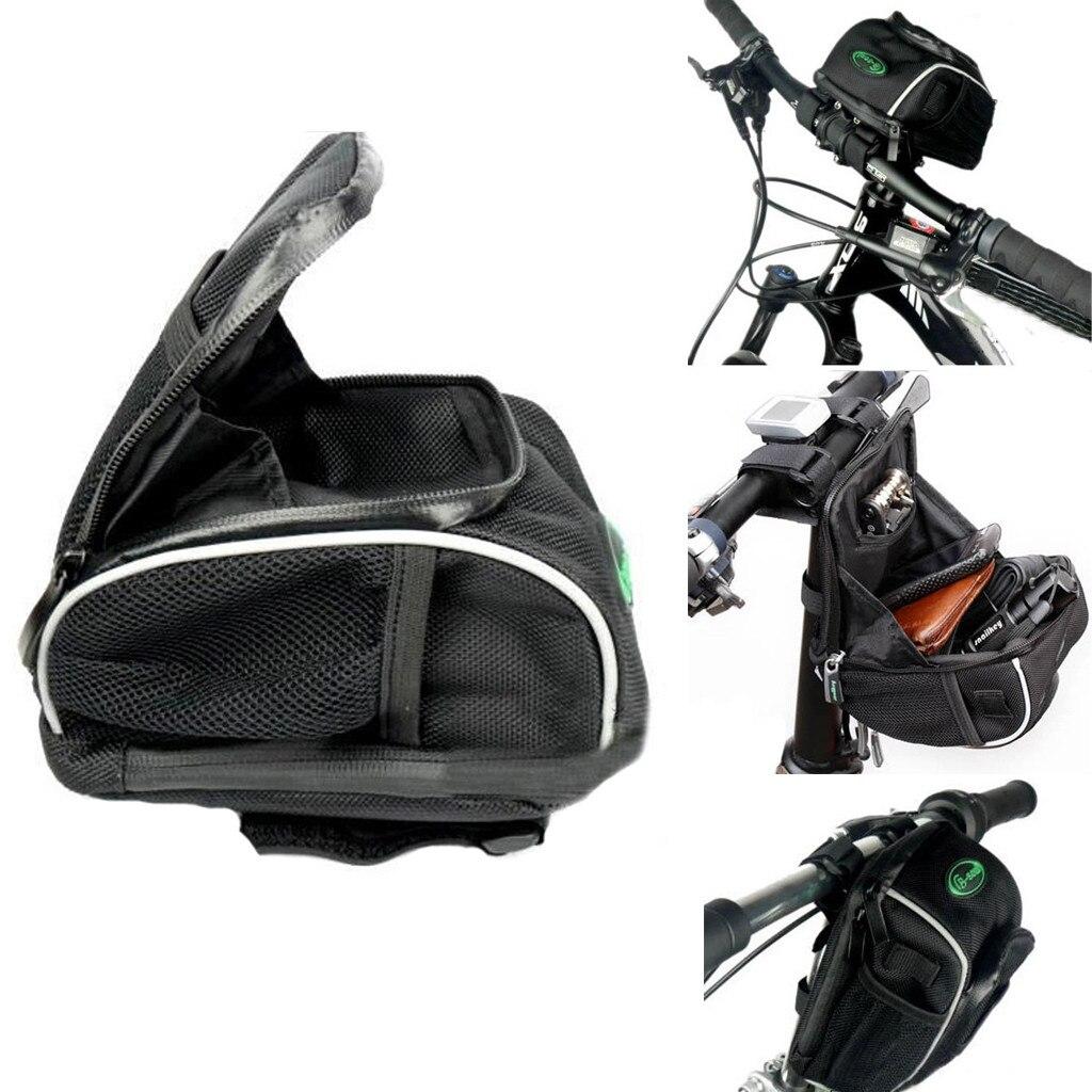 Cuadro delantero de Bicicleta bolsa de manillar de la montaña al aire...