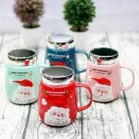 420ml14oz santa claus design ceramics mugs coffee mug milk tea office cups drinkware the best birthday gift with gift box