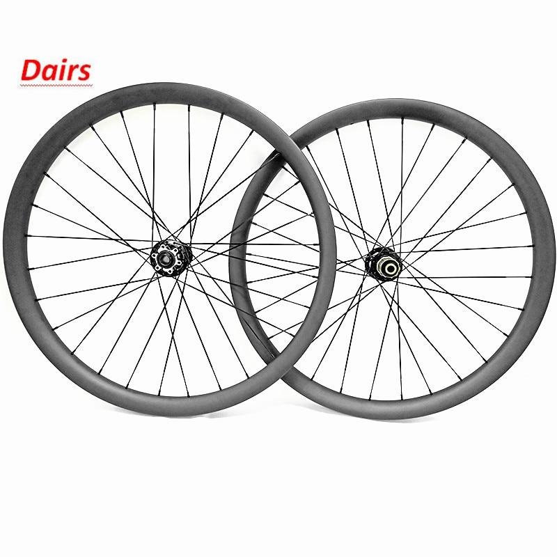 Ruedas de bicicleta mtb 27.5er 40x30mm sin cámara 650B boost 148x12 110x15 juego de ruedas de carbono mtb disco bicicleta de montaña mtb juego de ruedas