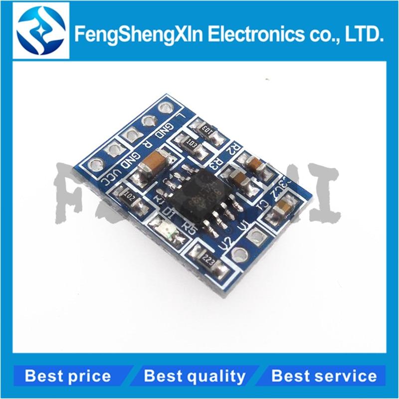 1pcs/lot Super Mini HXJ8002 Audio Power Amplifier Board Mono Channel Voice low noise Amplifiers Module 2.0-5.5V Replace PAM8403