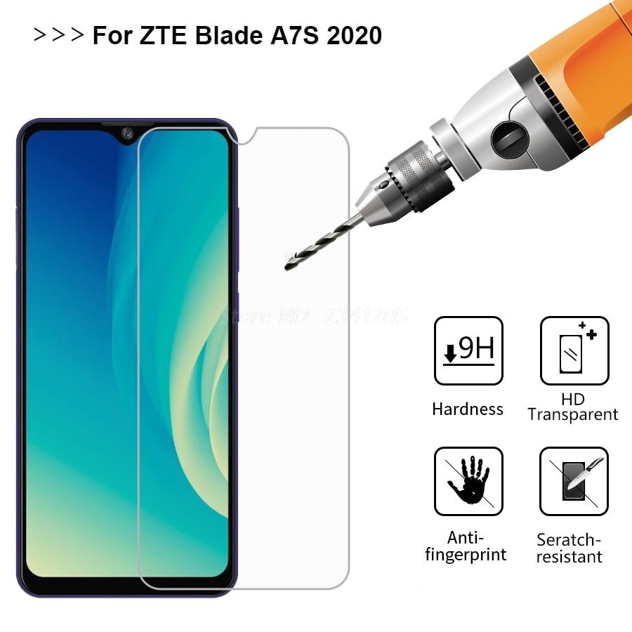 Фото - 2-1PCS Glass For ZTE Blade A7S 2020 A51 A71 L210 A3 A3Y A5 A7 11 Prime X1 5G Vidrio on ZTE Blade 20 V2020 Smart Screen Protector защитное стекло для камеры hybrid glass для zte blade a7s 2020