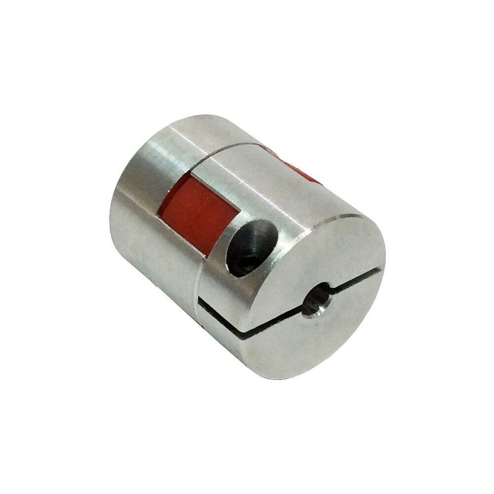 Acoplamiento del eje de la mandíbula CNC estilo ciruela D25 L 30 acoplador Flexible taladro 5-10mm CNC acoplamiento Flexible eje acoplador de Motor conector