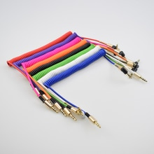 1.8m AUX Audio Cable 3.5MM Male To Male Cable for Phone Car Speaker MP4 Headphone 3.5MM Jack To Jack