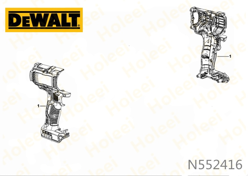 Carcasa para DEWALT DCF894 N552416