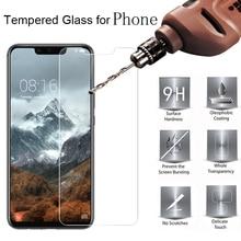 Voor Doogee X10 Glas Gehard Glas Doogee X20 N20 Y8 Y9 Plus X30 Pro Screen Protector Film Telefoon Cover Beschermende glas Case