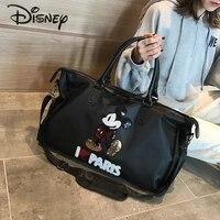 disney 2021 new cartoon mickey lady handbag fashion trend multifunctional large capacity travel storage bag lady duffel bag