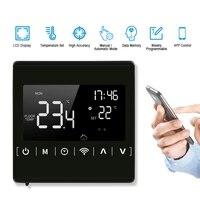 MEIHWiFi regulateur de temperature de Thermostat intelligent pour eau chauffage par le sol electrique chaudiere a eau gaz fonctionne avec Alexa Google Home