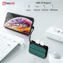 USB Adapter For IPhone IOS 13 USB Converters lightning to USB 3.0 OTG Adapter Dual USB HUB Converter For IPad to Keyboard Camera