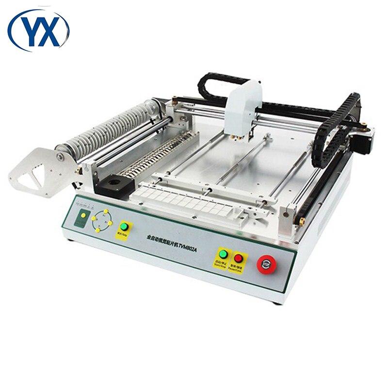 Máquina PNP fábrica Smt máquina/máquina de recogida y colocación sistema de montaje Solar TVM802A
