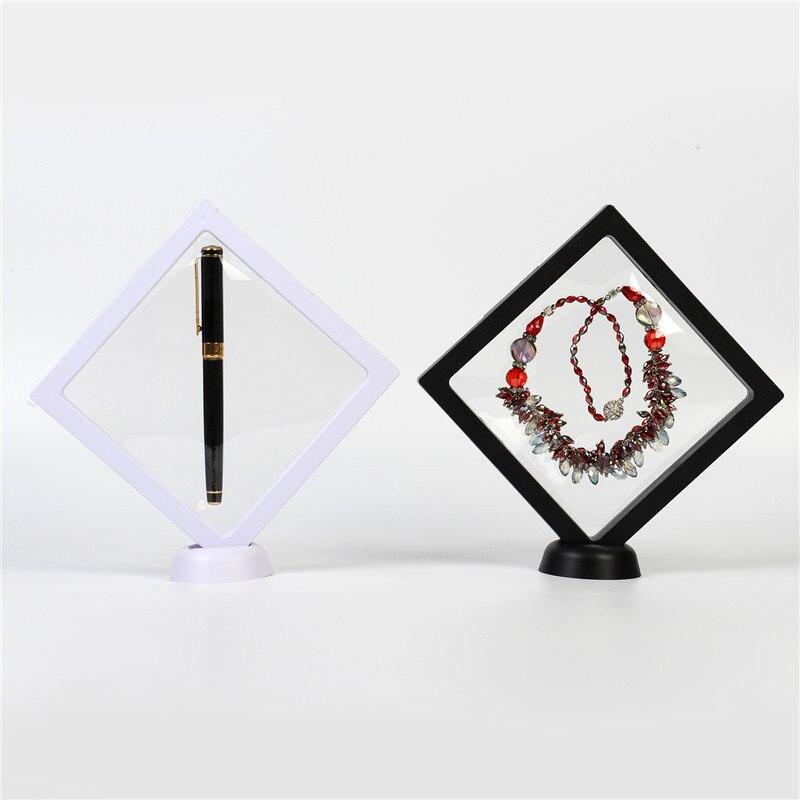 Прозрачный 3D-чехол для ювелирных украшений, подвеска, серьги, кольцо, дисплей, подставка, держатель, плавающее ожерелье, презентация