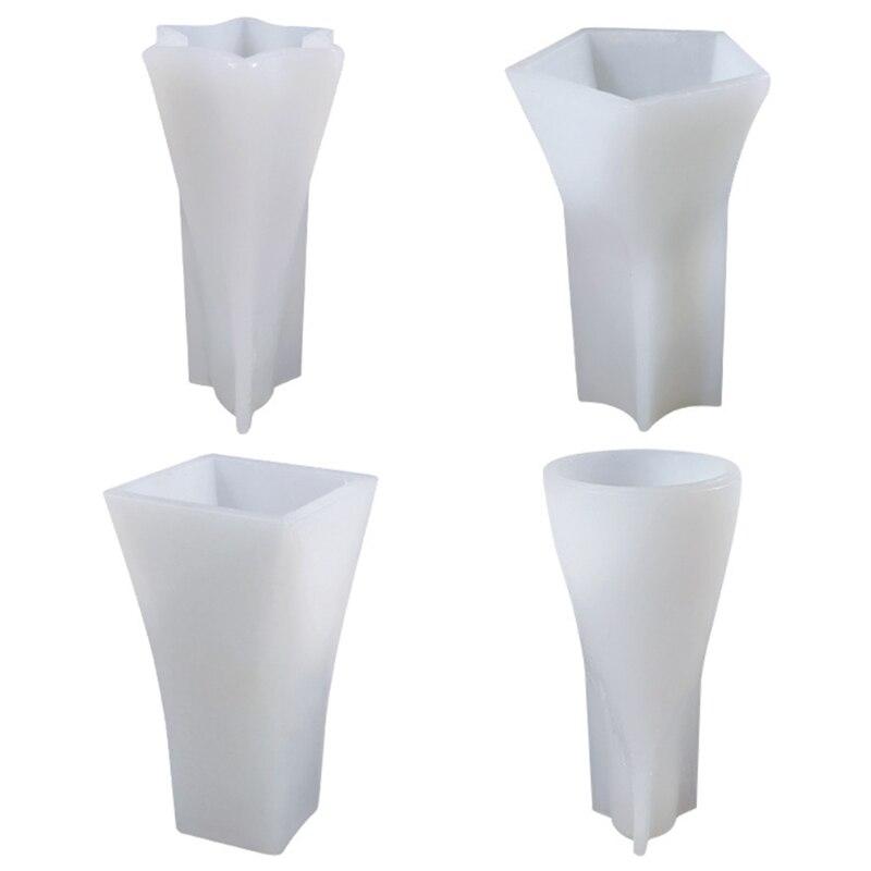 Квадратно-Конусная силиконовая форма 594B, эпоксидная смола, самодельные Украшения для мыла