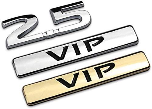 Coche Logo VIP modificación para Mazda CX5 SAAB Renault Opel de Metal etiqueta engomada del coche de carrocería etiqueta trasera emblema maletero Placa de etiqueta engomada