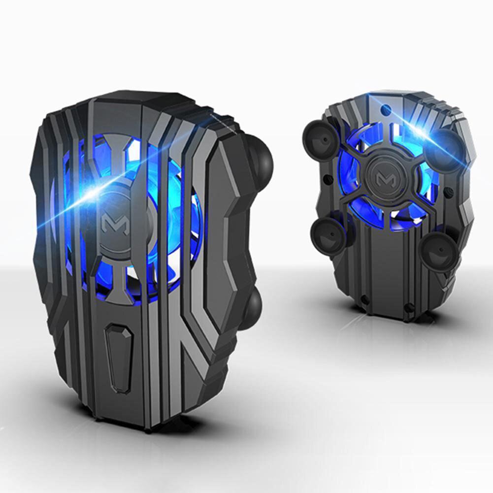 2020 Universal Handy Mobil Telefon Kühler LED Telefon Kühlkörper Lüfter Hintergrundbeleuchtung Für iPhone XS MAX/XS/XR/8/7/6 Huawei Samsung