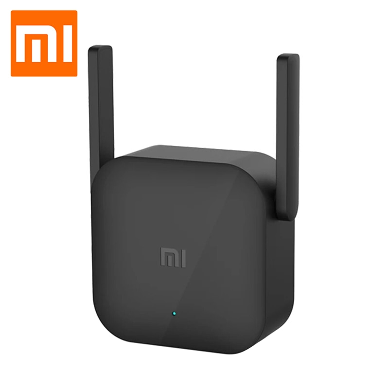 Xiaomi Pro 300M Smart Home WiFi Amplifier 2.4G WIFI Repeater Extender Signal Boosters Universal Household Wireless Router недорого