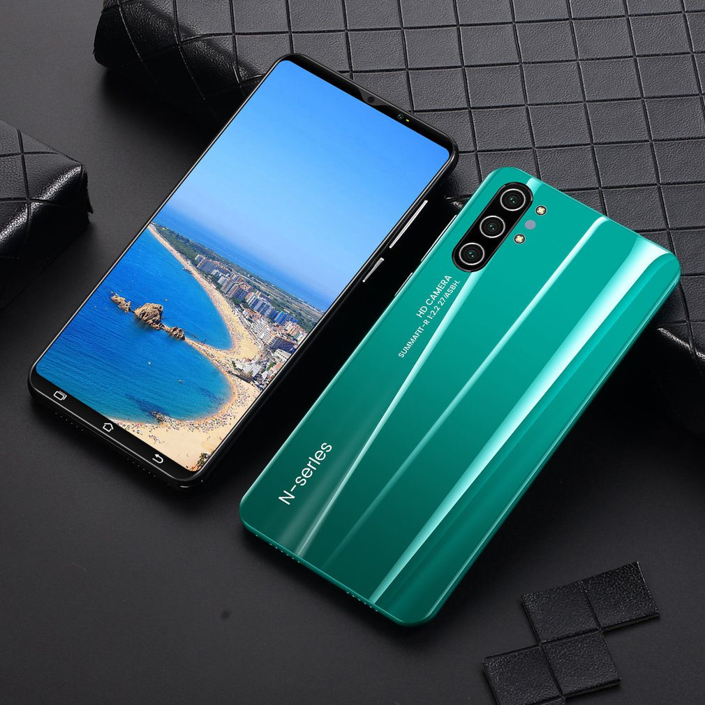 Note10+ 5-inch Mobile Phone Digital Display Screen Hd Camera with Strong Quad-core 512mb+4gb Smartphone enlarge