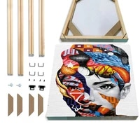 art stretcher pole canvas wood frame wood painting for oil painting canvas diy artist home decoration