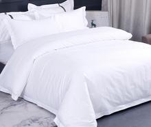 3pcs 4pcs Hotel Beddings Set Duvet Cover Flat Sheet Pillowcases Without Filler 100% Cotton 40S 60S 80S