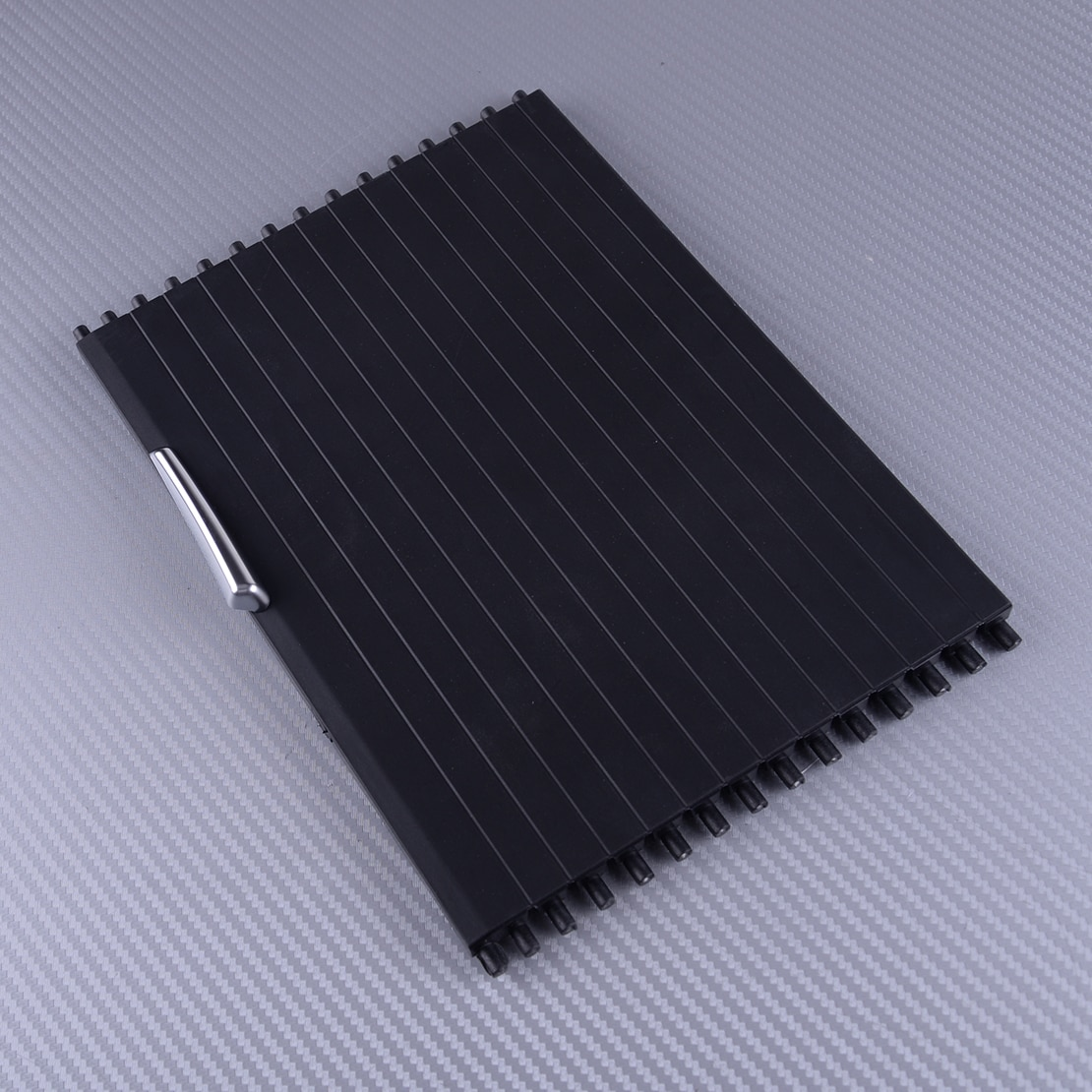 DWCX 1pc Rear Center Console Roller Blind Cover 51166954943 fit for BMW X5 X6 E70 E71 2007 2008 2009 2010 2011 2012 2013 2014