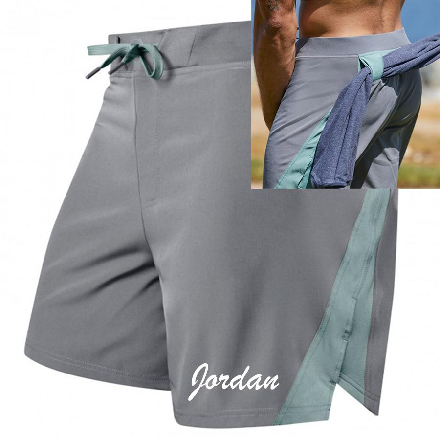 Pantalones cortos de verano para hombre, pantalones cortos de moda informales para Fitness, gimnasio, culturismo, Jogger, ropa de entrenamiento, pantalones cortos de secado rápido para hombre