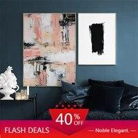 Toile de peinture de noel  mode nordique  affiches de decoration simples abstraites et images murales  Art pour decoration de maison