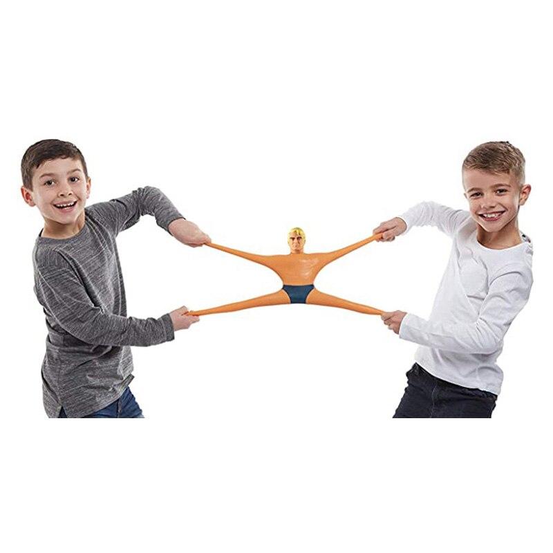 Stretch Armstrong Figuur Grappige Squeeze Speelgoed Draaien Trekken Buigen Super Stretch Speelgoed Antistress Kid Speelgoed Gift enlarge