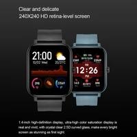 runfengte new smart watch wristband men women sport clock heart rate monitor sleep monitor smartwatch