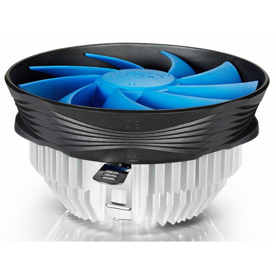 DEEPCOOL GAMMA ARCHER CPU ventilador de enfriamiento TDP 95W 120mm tranquilo ventilador Intel LGA 775 1155 1156 AMD AM4 AM3 AM2 para de refrigeración de la CPU