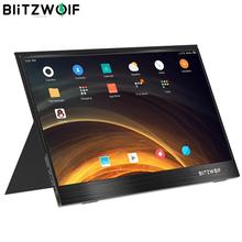 Blitzwolf pcm4 15.6 Polegada uhd 4 k tipo c portátil computador lcd monitor tela de jogos para console smartphone tablet portátil